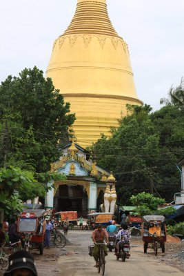 Shwemawdaw Paya - The first temple on our Bago tour
