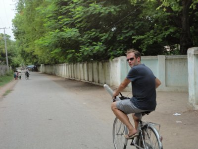 Cycling around Mandalay