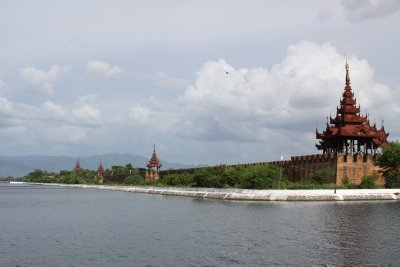The moat of the Royal Palace