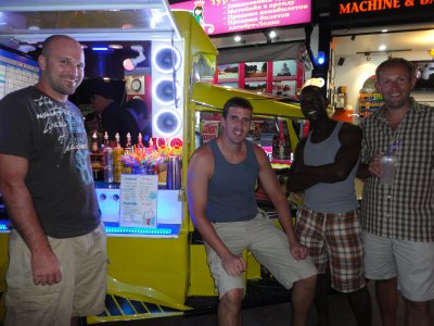 Hanging out at the tuk-tuk bar, again