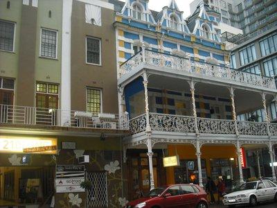 Famous buildings on Long Street!