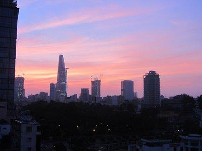 Sunrise Over Ho Chi Minh