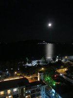 Rooftop View of Nha Trang Beach by Moonlight