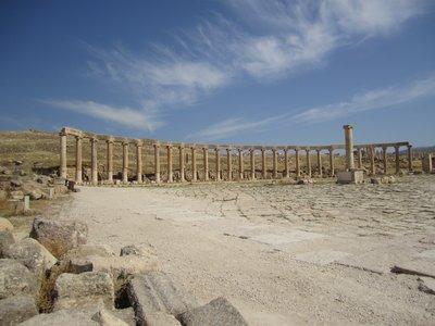 Souk in Jerash