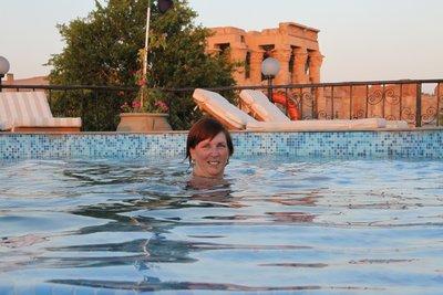 Swim on board at Aswan