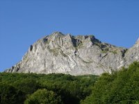 The Krchin peak, Western Macedonia