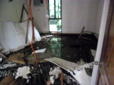 Destroyed Room in Abandoned Church, El Nido