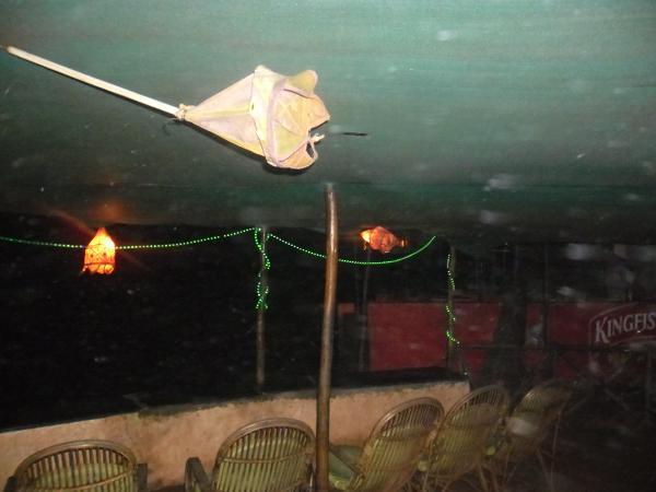 Bad Weather in Anjuna Beach