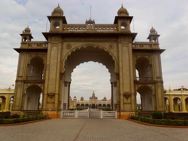 East Gate of Mysore Palace