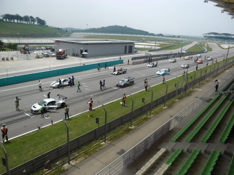 Malaysian Super Series race at Sepang Circuit