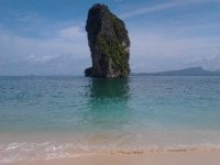 Limestone tower off Poda Island