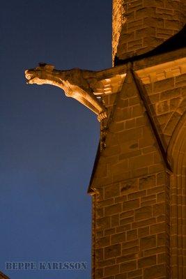 Gargoyle in Bendigo