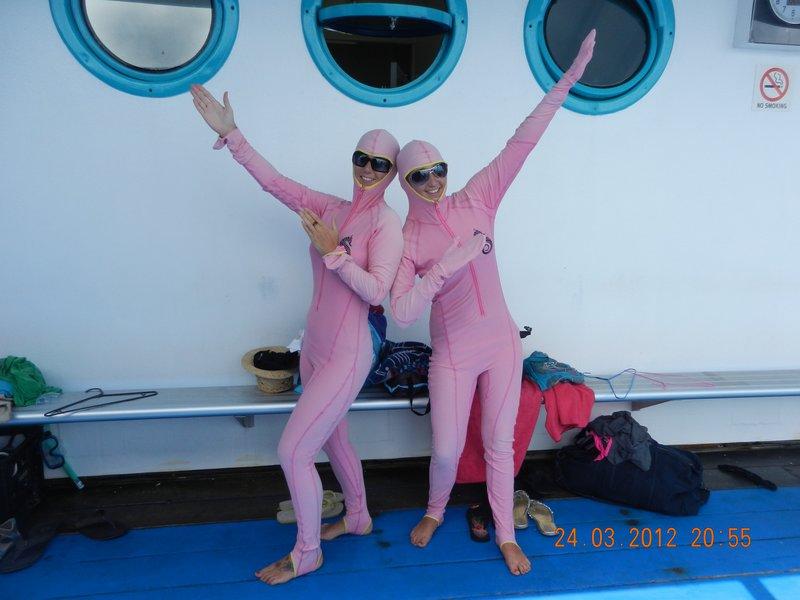 Pink Jellyfish stinger suits