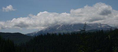 Mount Saint Helens from afar