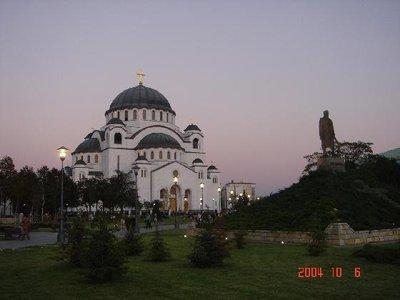 St Sava's and Black George's Statue