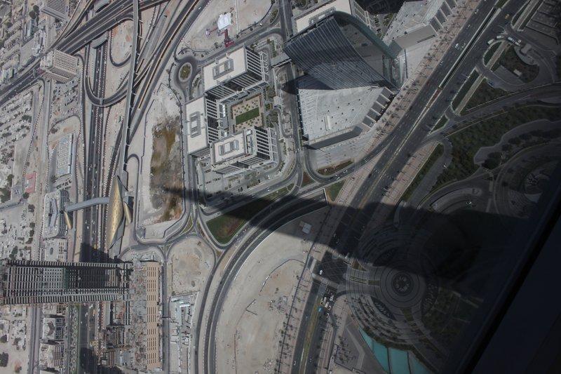 At the Bursj Khalifa