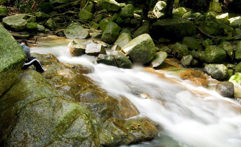 Hin Lard Waterfall, Prajeenburi