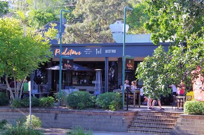 Our lunch venue in Noosa.