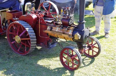 Lord Corgi - a miniature traction engine.