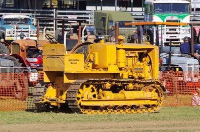 D6 Caterpillar Tractor.