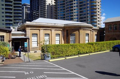 The Irvin Gallery on Observatory Hill in Sydney.