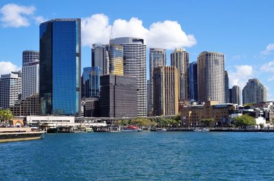 Circular Quay from the Opera House