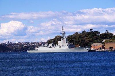 HMAS Hobart - lead ship of the Hobart Class Air Warfare Destroyer - entered service 2017.