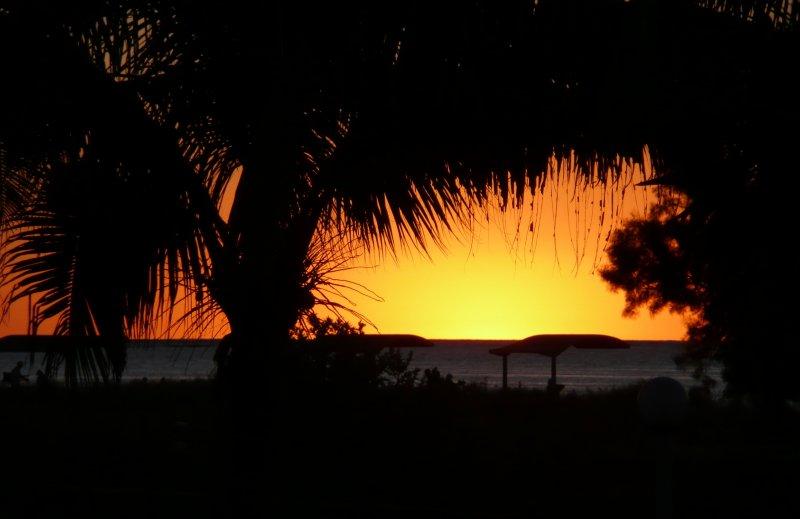 Sunset at Coral Bay