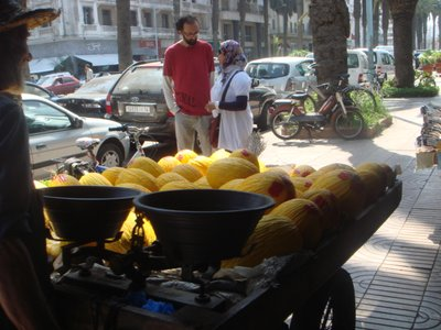 at the souk of Casablanca