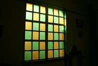 Candy-colored windows