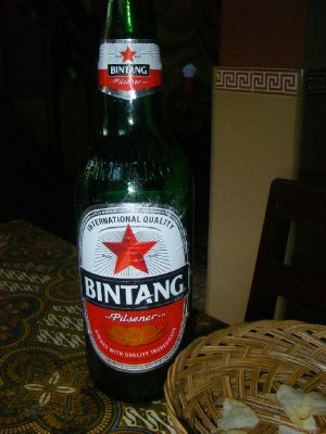 Beer of choice in Indonesia