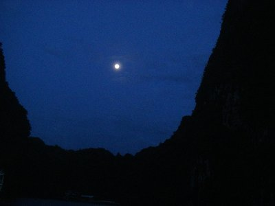 Full Moon over Halong Bay