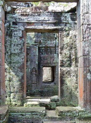 Inside Ta Prohm
