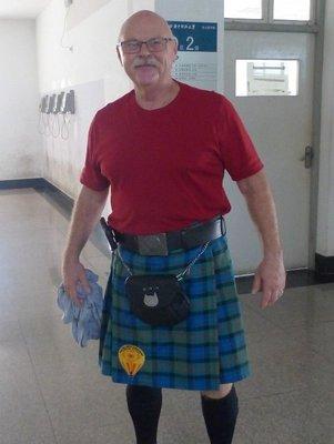 Dale - my Scottish brotha from anotha motha