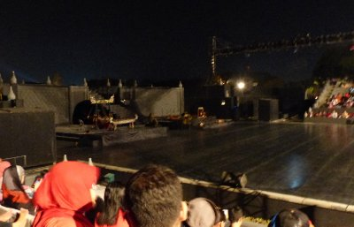 Ramayana Theater stage area
