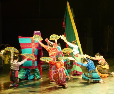 Philippine Dancers at the Ramayana Dance Festival
