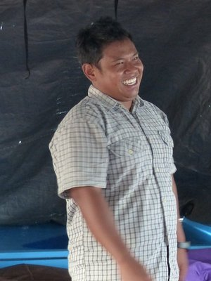 Arif with his ever bright smile
