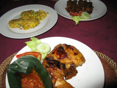 Ayam Pangdang BuBu....