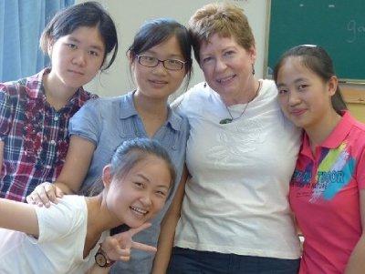 Patty with Merry, Vivi, Ursula and Zenobia