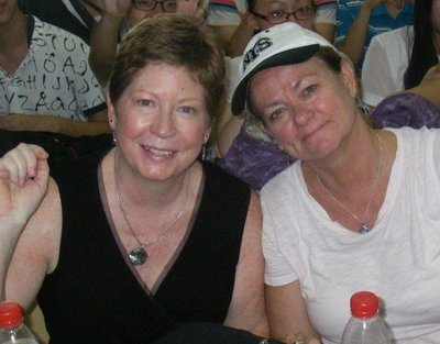 Me and Brenda... HUST Summer Camp 2014