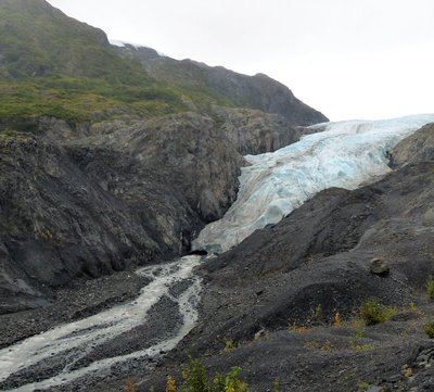 Top to bottom - Exit Glacier