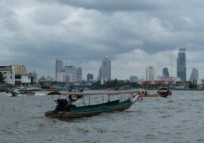 Rush Hour on the Chao Phraya