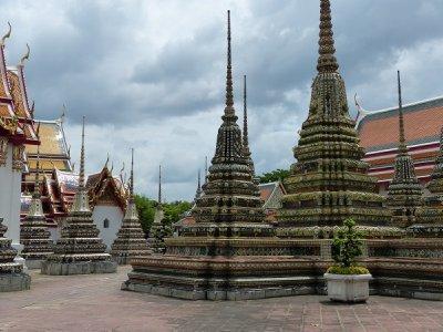 Beautiful wats at Wat Pho