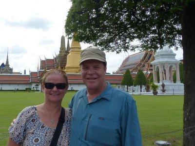 Brenda and Jim....tourists