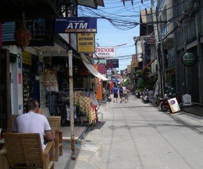 Main Street at Fisherman's Village - Bophut