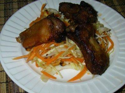 Burmese Pork Rib Salad