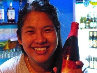 Joy - the most beautiful bartender in Koh Samui
