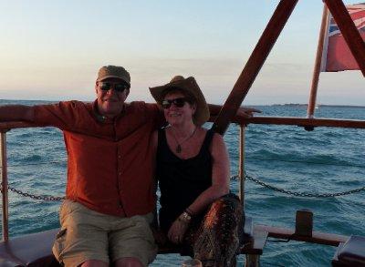 Sunset cruise off Darwin