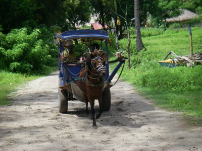 Transportation in Gili Air