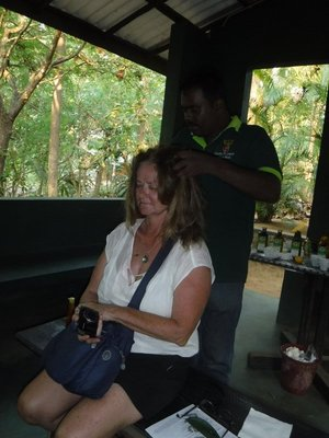 Brenda and her spice shop massage